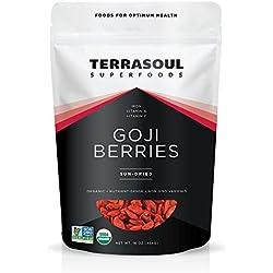 Terrasoul Superfoods Organic Goji Berries, 16 ounces