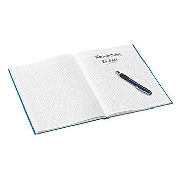 Verde WOW 46271164 Carta 90 gr//mq Leitz Blocco per appunti A5 con copertina rigida 80 fogli A righe