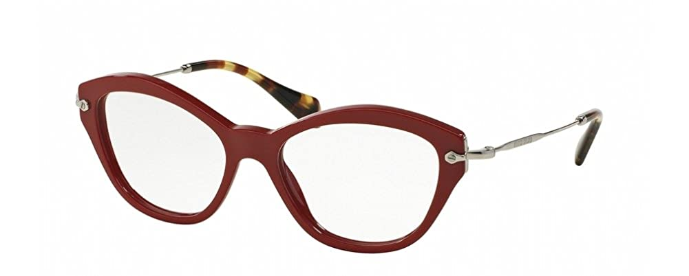 Eyeglasses Miu MU 2 OV UA41O1 RED