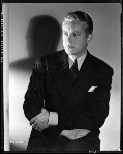 - Gene Raymond 1934 Clarence Sinclair Bull Original Rare Vintage Negative & Photo
