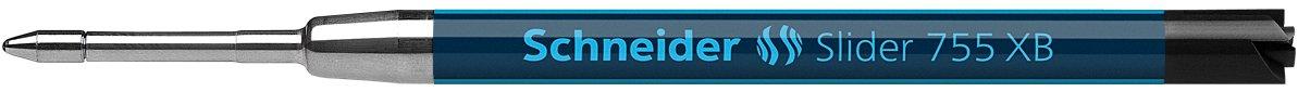 Schneider Slider 755 XB Pen Refill, Black, Box of 10 (175501) by Schneider (Image #2)