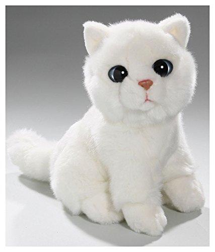 Carl Dick Peluche - Gato blanco (felpa, 20cm) [Juguete] 3081: Amazon.es: Juguetes y juegos