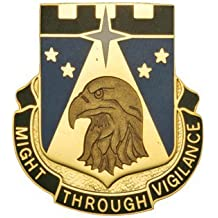 742nd Military Intelligence Bn Unit Crest (Might Through Vigilance)