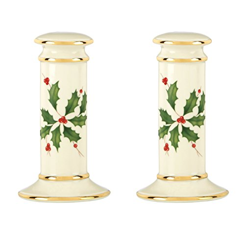 - Lenox Holiday Salt & Pepper,Ivory
