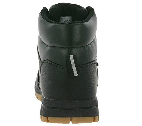 Erwachsene Mid Schwarz Light Bright Kappa Combat Unisex Boots 5twB0qT