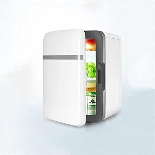 GGCG 10L car Refrigerator, Refrigeration Heating car Refrigerator Mini Refrigerator Home Micro Refrigerator car Dual-use Refrigerator (Color : B)