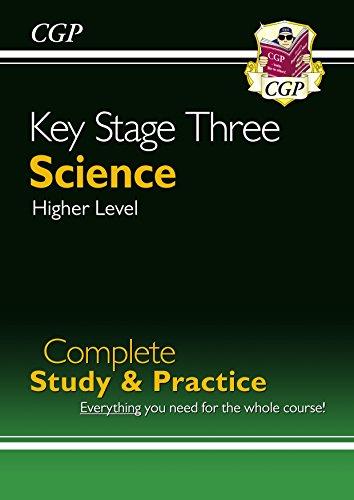Higher Practice Book - New KS3 Science Complete Study & Practice-Higher (CGP KS3 Science)