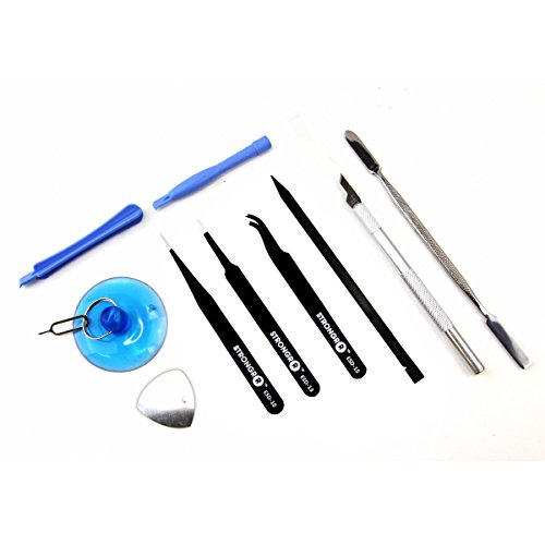LB1 High Performance Commercial Grade 26 Piece Electronics Tool Set Maintenance Repair Kit for Repairing Motorola Nexus 6 XT1103 Disassembly hand tool kit