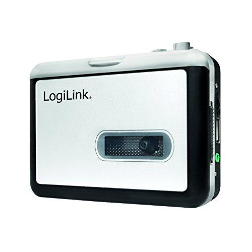 LogiLink UA0281 cassettedigitalisator met USB-aansluiting zilver