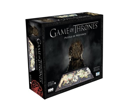 Game of Thrones Westeros Cityscape 4D Puzzle