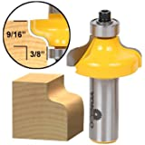 Zebery 1//2 Inch Shank Drawer And Cabinet Door Front Edging Router Bit Med Ogee Router Bit