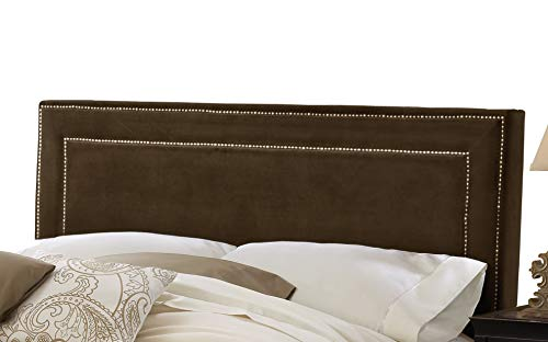 Hillsdale Furniture 1554-670 Amber Headboard, King, Chocolate