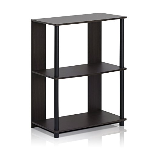 Furinno 15070WNBK Jaya Simple Design Bookcase, Walnut