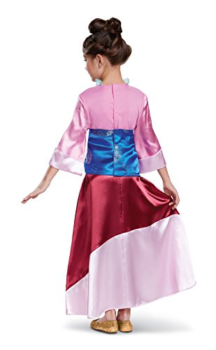 Mulan Deluxe Costume, Pink, Medium (7-8) - http://coolthings.us