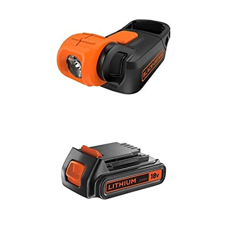 Black + Decker BDCCF18N-XJ Lampe torche compact 18 V (Batterie et chargeur non inclus) Stanley Black & Decker France