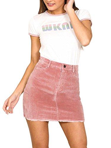 Canvas Mini Skirt - 2