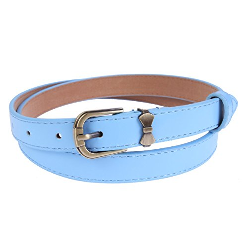 light blue belt womens - 8