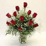One Dozen Red Roses - Premium