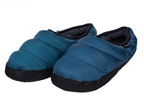 Anti Booties Fakeface Men Boots Dark Blue Winter Down Indoor Warm Women Shoes Slip Fleece Slippers wRWzcwqTng