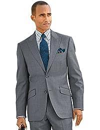 Men's Super 120s Sharkskin Suit Jacket