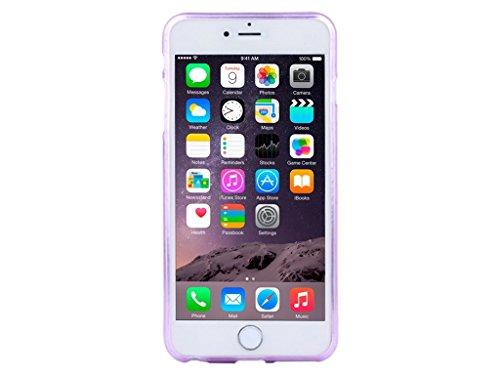 FBA - Apple iPhone 6s/6 Cover Case Gel TPU Clear Purple Diamond Crystal Angel Wings