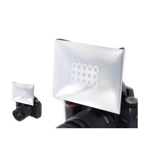 JJC PD-2 Universal Portable on camera softbox Flash Diffuser For Nikon Canon Metz Sigma Sony Yongnuo Olympus Nissin Flashes