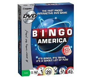Bee Singing Dvd - Bingo America DVD Game