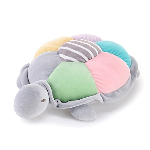 Me Too Sea Turtle Pillow Colorful Dolls Super Soft Crystal Plush Cotton Baby Toys 16'' ()