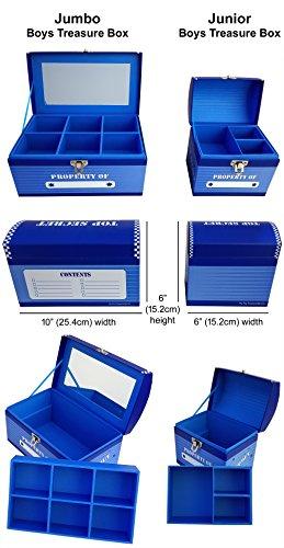 Boys Treasure Box Jumbo by My Tiny Treasures Box Co. (Image #5)
