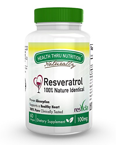 Resveratrol ResVida Clinically Studied Softgels product image