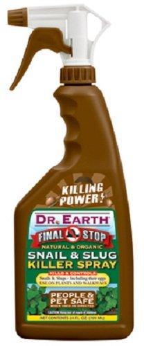 Dr Earth # 8001 Final Stop 24 oz Ready To Use Organic Snail & Slug Killer - Quantity 3