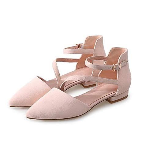 Heels Comfort Pink Heel Black Black Shoes ZHZNVX Suede Women's Spring Low zBXnIPq