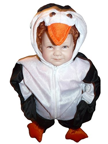 Penguin Costumes Toddler (Fantasy World Penguin Halloween Costume f. Toddlers, Size: 12-18mths,)