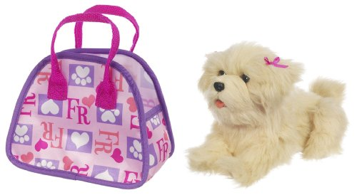 FurReal Teacup Pup Maltese with New Bag - Furreal Friends Teacup