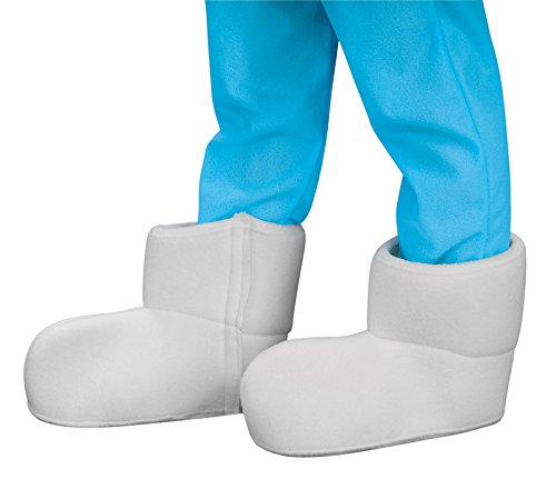 [Smurfs Adult Shoe Covers] (Brainy Smurf Costume)