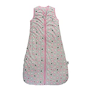 Slumbersac Baby Sleeping Bag 2.5 Tog - Simply Pink Elephant - 0-6 months/70cm