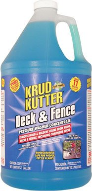 DECK & FENCE CLNR GAL. CASE OF 4 by Rust-Oleum