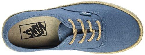 Vans Unisex-Erwachsene Authentic Espadrille Low-Top Blau (canvas/aegean Blue)