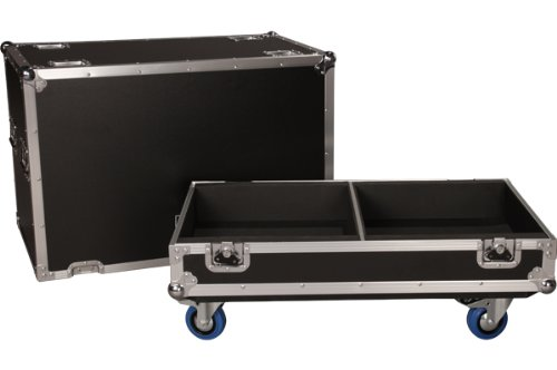 JBL Bags JBL-FLIGHT-PRX612M Flight Case for (2x) PRX612M, 1/2-Inch Plywood Construction and 3.5-Inch Casters, Truck Pack Exterior