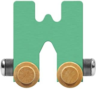 product image for Maple Landmark NameTrain Pastel Letter Car W - Made in USA (Green)