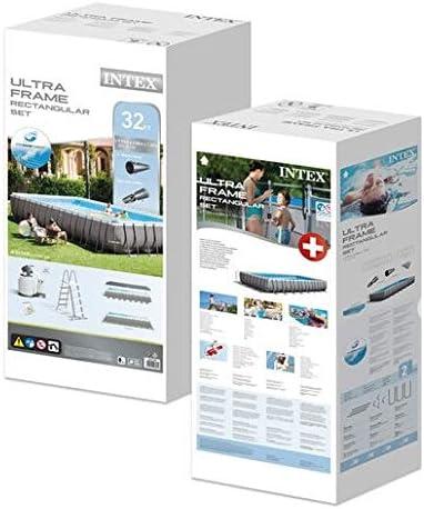 Intex - Piscina Desmontable Ultra Frame 975x488x132 cm - 54.368 ...