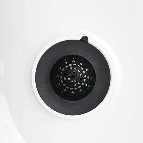 Nero Filtro lavello di Forma Rotonda in Silicone 10,9 cm x 3,6 cm iDesign Austin lavandino Cucina