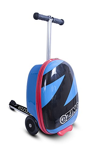 ZincFlyte Kid's Luggage Scooter 18 - Azul Pacífico