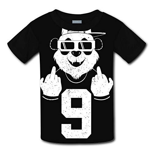 Clofun Child T-Shirts Creative Dabbing Panda Printed Short