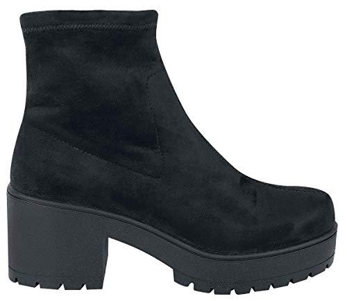 Antelina A Donna Atalaia Collo Elástico 10 negro Alto Victoria Sneaker Noir 4HFqwng