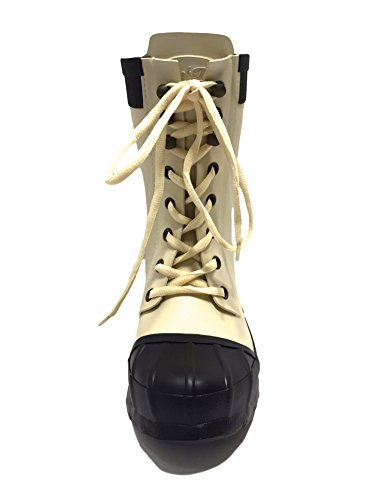 Rockfish Ladies Womens Short & Lacey Handmade Wellington Boots Fully Waterproof Outdoor Equestrian Country Horse Riding Festival Calf Short Durable Wellies Size 3 4 5 6 7 8 Nude Black AlQLGe