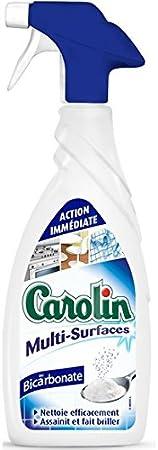 Carolin Carolin multisuperficies AU bicarbonato. El spray de 650 ml precio unitario – envío rápido y entrecruzado: Amazon.es: Hogar