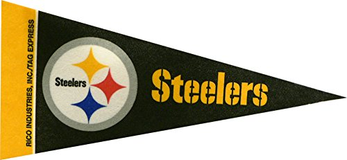 Mini Pennant Steelers - Pennant Pittsburgh Steelers