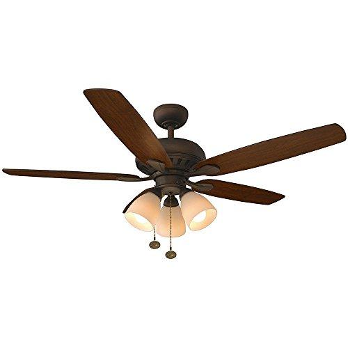 52 oil rubbed bronze ceiling fan - 1