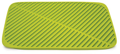 Joseph Joseph 85088 Flume Folding Draining Mat, Green, Large
